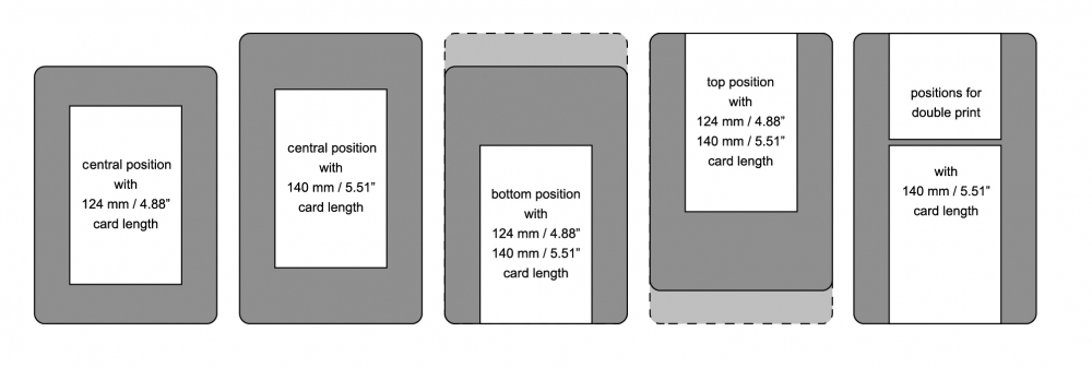xxl 2 0 id card printer
