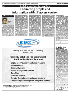 Connecting people and information with IP access control