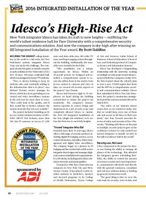 Idesco's High-Rise Act