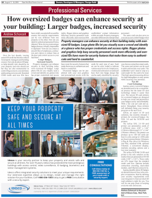 How oversized badges can enhance security at your building