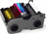 Fargo Full Color Ribbon and Refillable Cartridge - YMCKO - 250 Prints