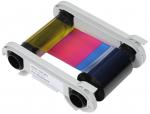 Evolis Half Panel Color Ribbon - YMCKO - 400 prints
