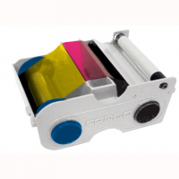Fargo Persona Color Ribbon & Refillable Cartridge - YMCKOK - 200 prints