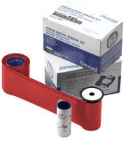 DataCard Graphics Red Monochrome Ribbon Kit