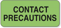 Contact Precaution Labels