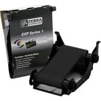 Zebra ZXP Series 1  Black Monochrome Ribbon K - 1000 Prints 800011-101