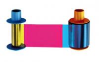 Fargo DTC5500LMX Color Ribbon - YMCKK - 500 prints