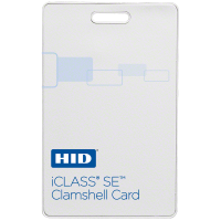 HID iCLASS SE 3350 Clamshell Card