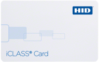 HID iClass Card 2100 - Composite 40% Polyester / PVC – Qty 100