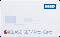 HID iCLASS SE + Prox Card 3150 – QTY 100