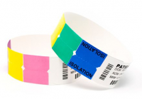 Ident-Alert Color-Coded Wraps with Customized Text