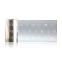 OVD 'snowflake' design lamination film  - 1000 shots