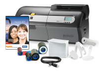Zebra ZXP Series 7 Single Sided ID Card Printer with Media Starter Kit