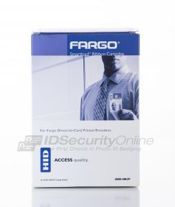 Fargo Standard Black Monochrome Ribbon - 1000 Prints