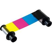 Fargo Half Panel Color Ribbon - YCMKO - 850 Prints