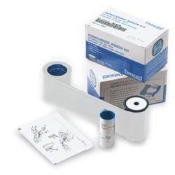 DataCard Graphics White Monochrome Ribbon Kit