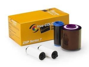 Zebra ix Series 1/2 panel YMCKO Color Ribbon for ZXP Series 7 - 1250 Prints
