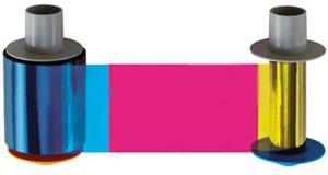 Fargo Full Color Ribbon - YMCKK - 500 Prints