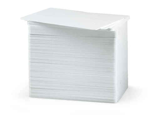 CR80.20 (20 Mil) White PVC Cards - Qty. 500