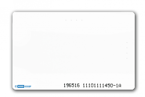 HID 1586 ISOProx II PET Cards – Printable – Qty 100