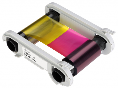 Evolis Full Color Ribbon for the Zenius - YMCKO - 100 Prints