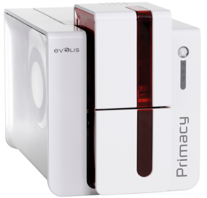 Evolis Primacy Single or Dual Sided ID Card Printer with Ethernet