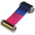 Fargo YMCK: HDP Full-color ribbon with resin black panel 84011